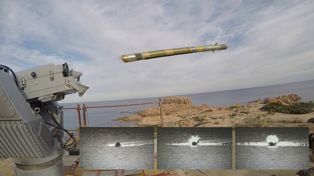 At the end of 2018, MBDA successfully demonstrated the use of the Mistral missile against fast boats such as FIACs (Fast Inshore Attack Craft).