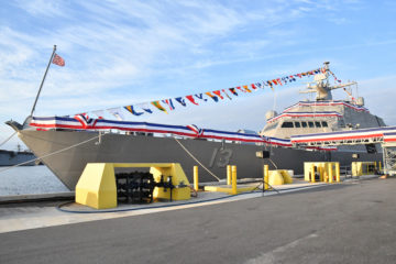 US Navy commissions 13th LCS, USS Wichita