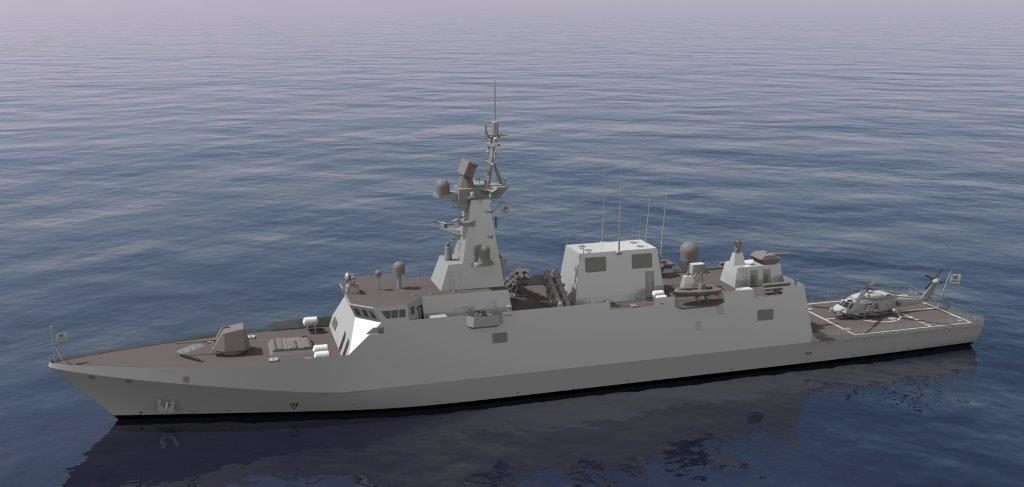 On 15th. January, Navantia has initiated, in San Fernando shipyard, the construction of the first corvette for the Saudi Arabia Navy. The event has consisted of the cut of the first plate of the ship, belonging to the block 401, dimensions of 12 x 2,4 meters, a thickness of 7 millimeters and a weight of 1.254 kilos.