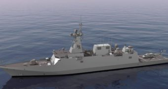 Navantia starts building  first corvette for Saudi Arabia