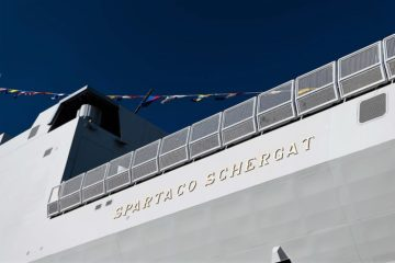 9th Italian Navy FREMM Frigate 'Spartaco Schergat' Launched by Fincantieri