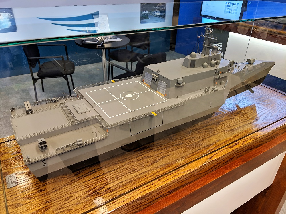 Austal Further Improves its Frigate Design to Better Match