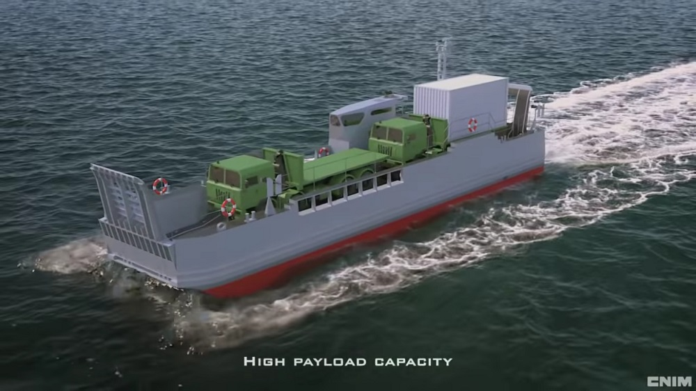 CNIM to Deliver 14 new EDA-S Landing Craft for the French Navy