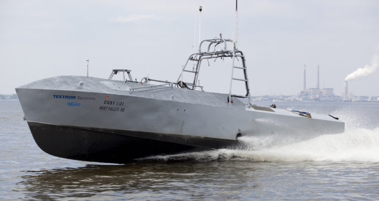 AAI Corp., a subsidiary of Textron Systems, has been awarder a US$10 million contract to exercise options for engineering and technical services for the US Navy's Unmanned Influence Sweep System (UISS) unmanned surface vehicle platform, the US Department of Defense said on January 10, 2019.