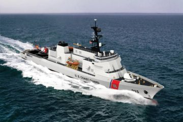 ESG starts steel cutting for USCG new offshore patrol cutter