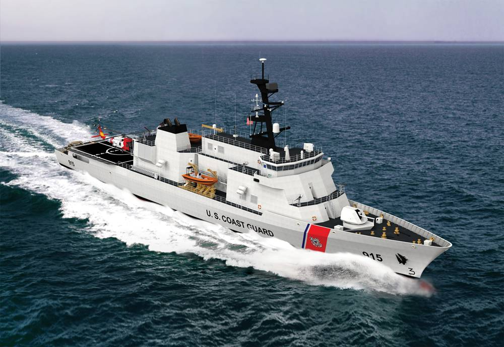 Eastern Shipbuilding Group reports that steel cutting for the first offshore patrol cutter (OPC), Coast Guard Cutter ARGUS (WMSM-915), commenced on January 7, 2019 at Eastern's facilities. ESG successfully achieved this milestone even with sustaining damage and work interruption due to Hurricane Michael.