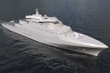 Hensoldt Radar and IFF systems selected for Norway's Arctic Coast Guard Vessels