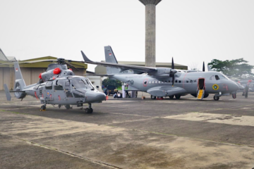 Indonesian Navy gets new CN235-220 MPA, AS565 Mbe ASW helicopters
