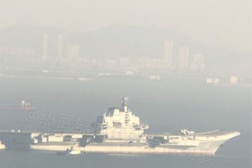 Liaoning aircraft carrier returns to sea after refit