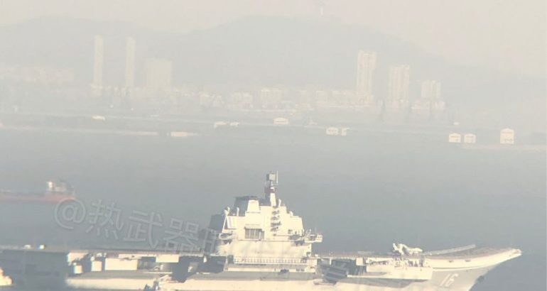 China's Liaoning aircraft carrier returned on a new sea trial on Monday after more than half a year's maintenance and modification, our colleagues from East Pendulum unveiled yesterday.