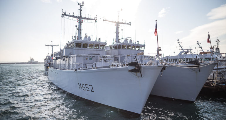 Naval Group Wins Fleet-Wide Maintenance Contract for French Navy MCM Vessels