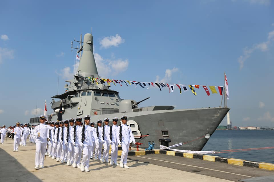 ST Engineering Launched Final Littoral Mission Vessel for Republic of Singapore Navy