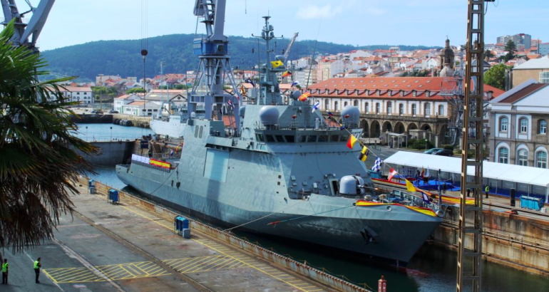 The Spanish Minister of Defense, Margarita Robles, accompanied by the Chief of Staff of the Spanish Navy, Admiral Teodoro López Calderón, presided over in Ferrol the commissioning of the new OPV 'Furor', the service announced yesterday.