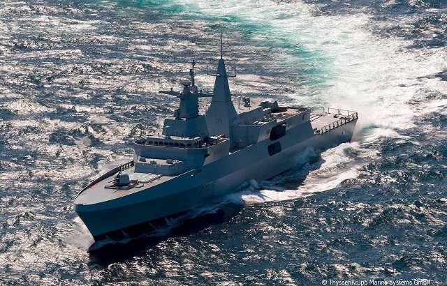TKMS wins Royal Navy's Type 31e frigates design contract