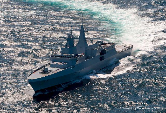 TKMS wins Royal Navy's Type 31e frigates design contract - Naval News