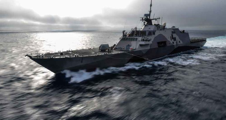 The U.S. Navy awarded the Lockheed Martin and Fincantieri Marinette Marine (FMM) team a fixed-price-incentive-fee contract to build an additional Littoral Combat Ship (LCS).