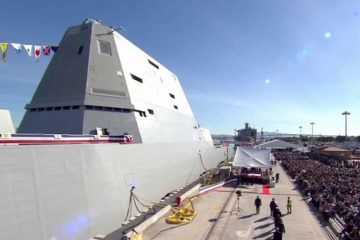 U.S. Navy Commissioned Zumwalt-class destroyer USS Michael Monsoor – DDG 1001