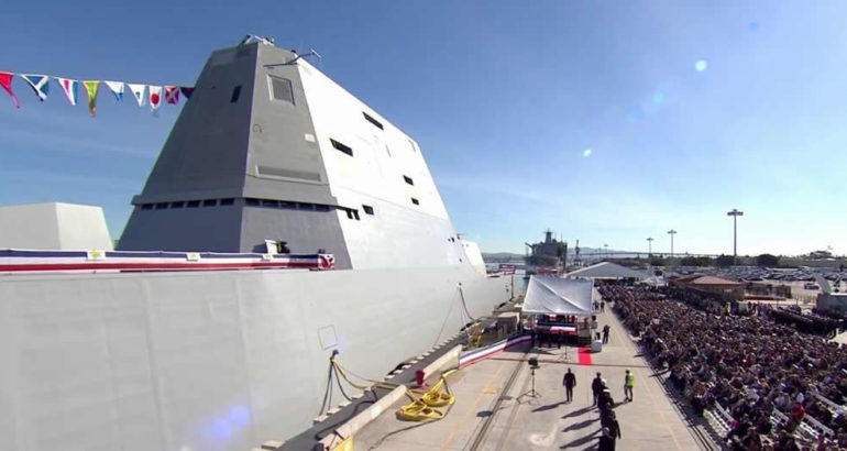 U.S. Navy Commissioned Zumwalt-class destroyer USS Michael Monsoor - DDG 1001 1