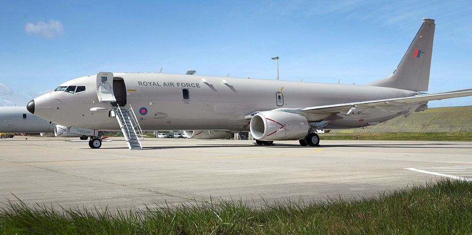 UK P-8A Poseidon Crews Started Training in Florida