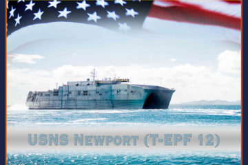 US Navy held 12th EPF Vessel keel laying ceremony