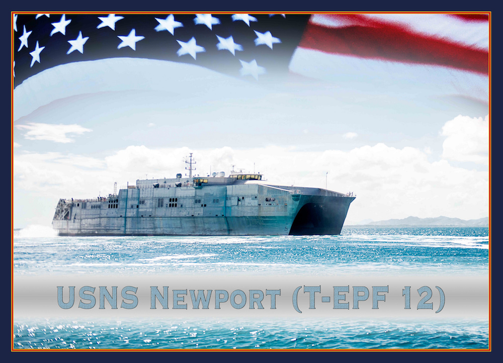 US Navy held 12th EPF Vessel keel laying ceremony - Naval News