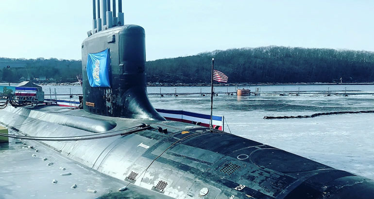Block III Virginia-class submarine USS South Dakota (SSN 790) Commissioned in the U.S. Navy 1