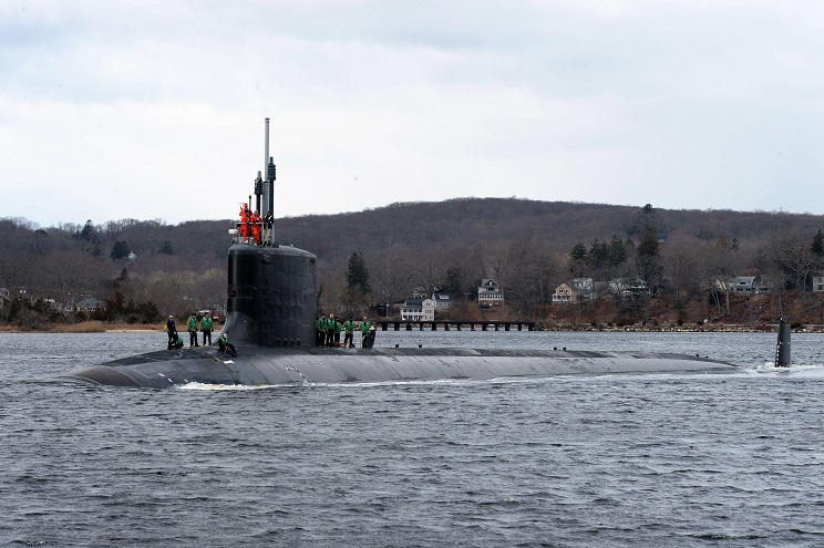 Block III Virginia-class submarine USS South Dakota (SSN 790) Commissioned in the U.S. Navy 1