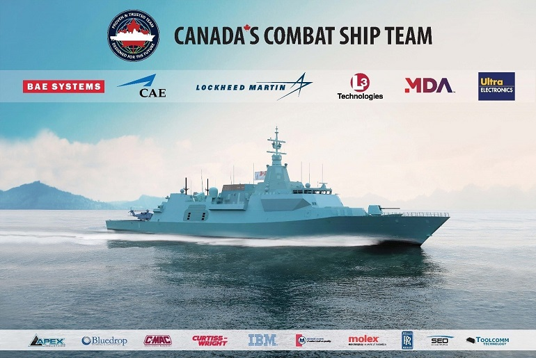 Canada's Combat Ship Team awarded CSC design contract 3