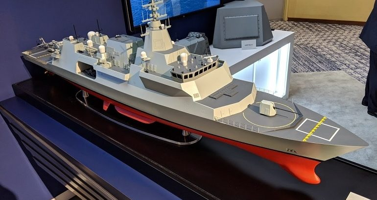 Canada's Combat Ship Team awarded CSC design contract