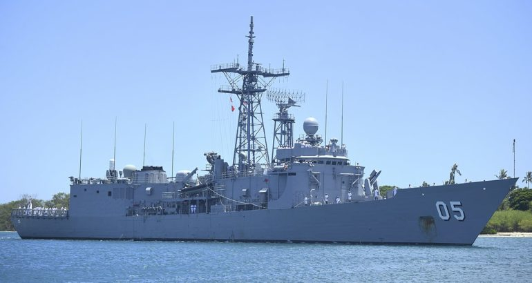 Chilean Navy interested in the Adelaide-class frigates HMAS_Melbourne_