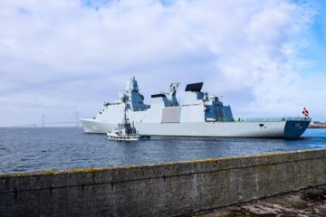 Danish Frigate Niels Juel to Join French Navy Carrier Strike Group