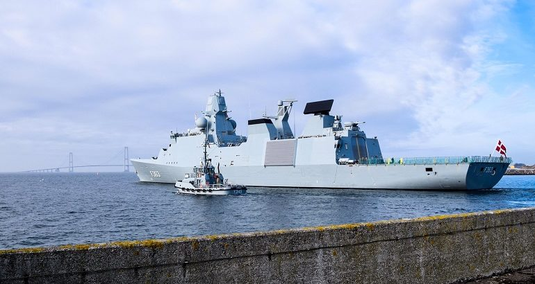Danish Frigate Niels Juel to Join French Navy Carrier Strike Group 1