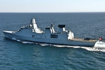 Danish Navy Frigate Iver Huitfeldt Deploys For Operation Agenor