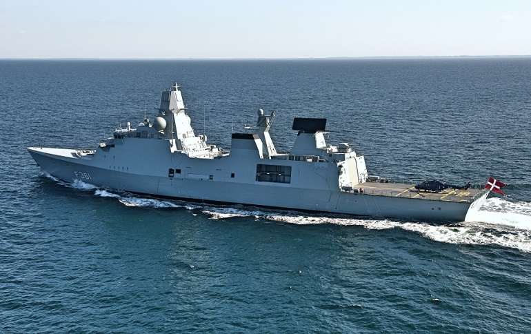 Danish Frigate Niels Juel to Join French Navy Carrier Strike Group 2