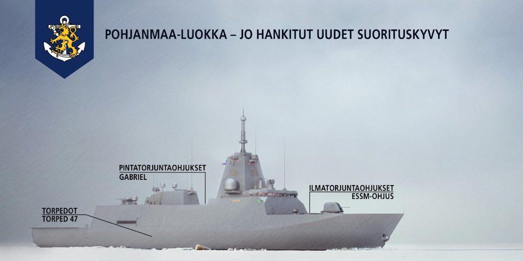Finland Procures ESSM for Finnish Navy Pohjanmaa-class Corvettes 1