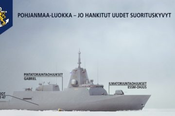 Finland Procures ESSM for Finnish Navy Pohjanmaa-class Corvettes