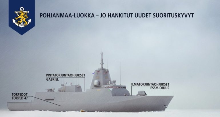 Finland Procures ESSM for Finnish Navy Pohjanmaa-class Corvettes 1