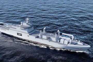 Vestdavit to Supply Davit Systems for the French Navy's Force Replenishment Tankers
