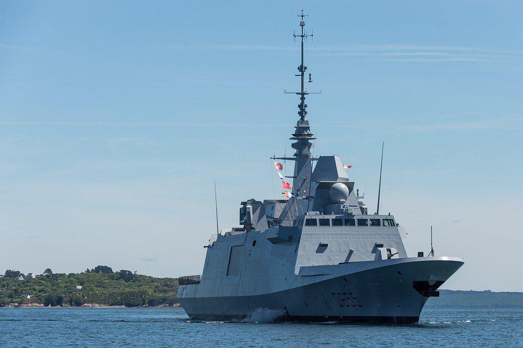 French Navy Commissions its Fifth FREMM Frigate 'Bretagne' 3