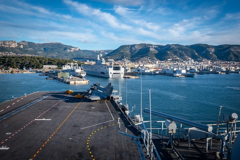 French Navy Kicks Off Large Combined Exercise Ahead of CSG Deployment in Asia