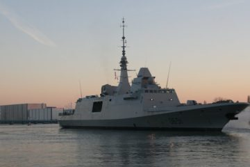 French Navy's 6th FREMM frigate Normandie starts sea trials