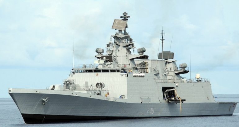 GE Marine will provide gas turbine auxiliary equipment for the LM2500 engines that will power the Indian Navy's new P17A frigates. This contract is with India-based Mazagon Dock Shipbuilders Limited (MDL) and Garden Reach Shipbuilders and Engineers Limited (GRSE), GE reported last week at the Aero India trade exhibition.