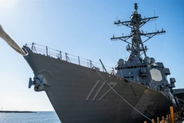 HII Delivers Guided Missile Destroyer Paul Ignatius (DDG 117) to U.S. Navy