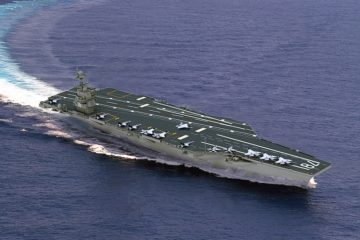 HII Receives U.S. Navy Contract for Construction of Two Ford-class aircraft carriers