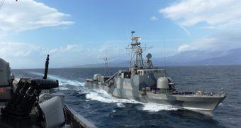 Hellenic Navy gradually changing Fast Attack Craft fleet camouflage