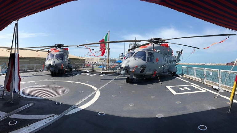 IDEX 2019 Leonardo's technologies on board of ITS Carlo Margottini of the Italian Navy 2