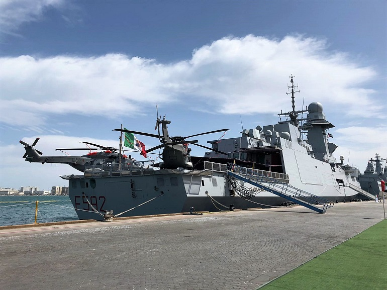 IDEX 2019 Leonardo's technologies on board of ITS Carlo Margottini of the Italian Navy 3