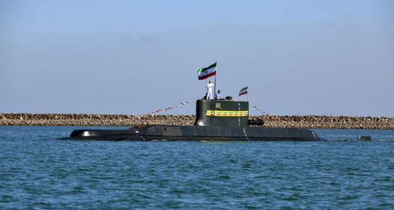Islamic Republic of Iran Navy Commissions 600-tons Fateh Submarine 1