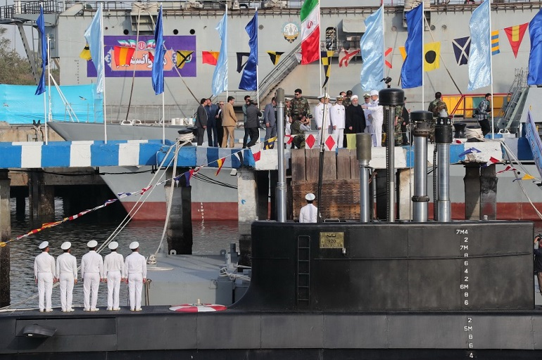 Islamic Republic of Iran Navy Commissions 600-tons Fateh Submarine 2