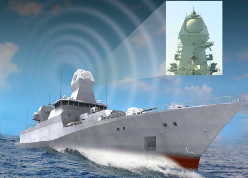 Israeli Navy orders ELTA MF-STAR radars for future Sa'ar 6